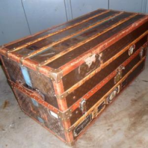antiekrestauratie koffer