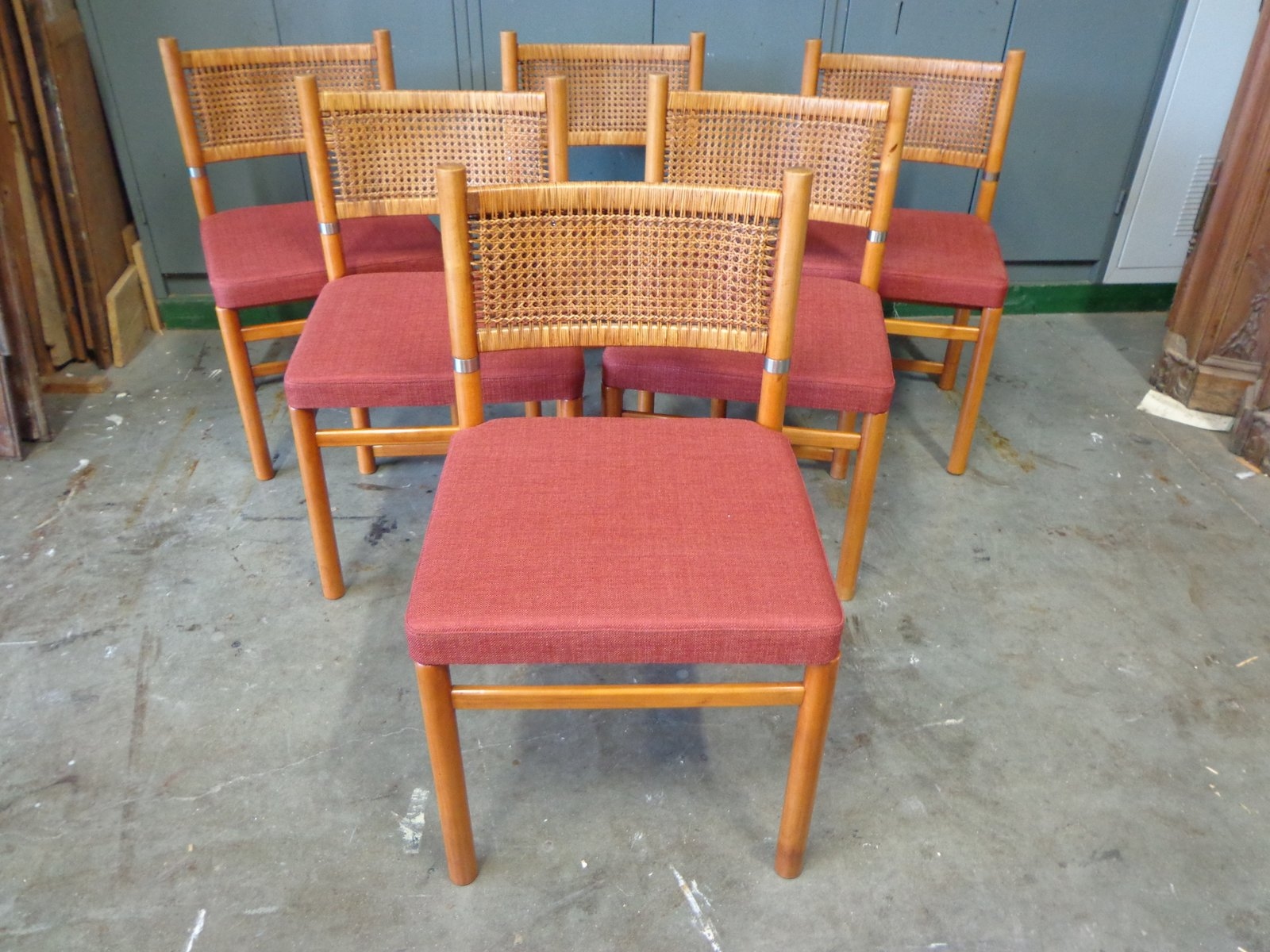 rieten stoel herstellen