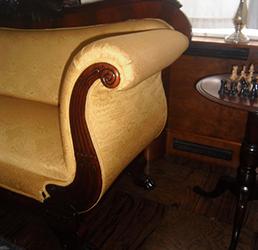herstofferen zetel
