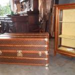antieke luis-vution koffer herstellen